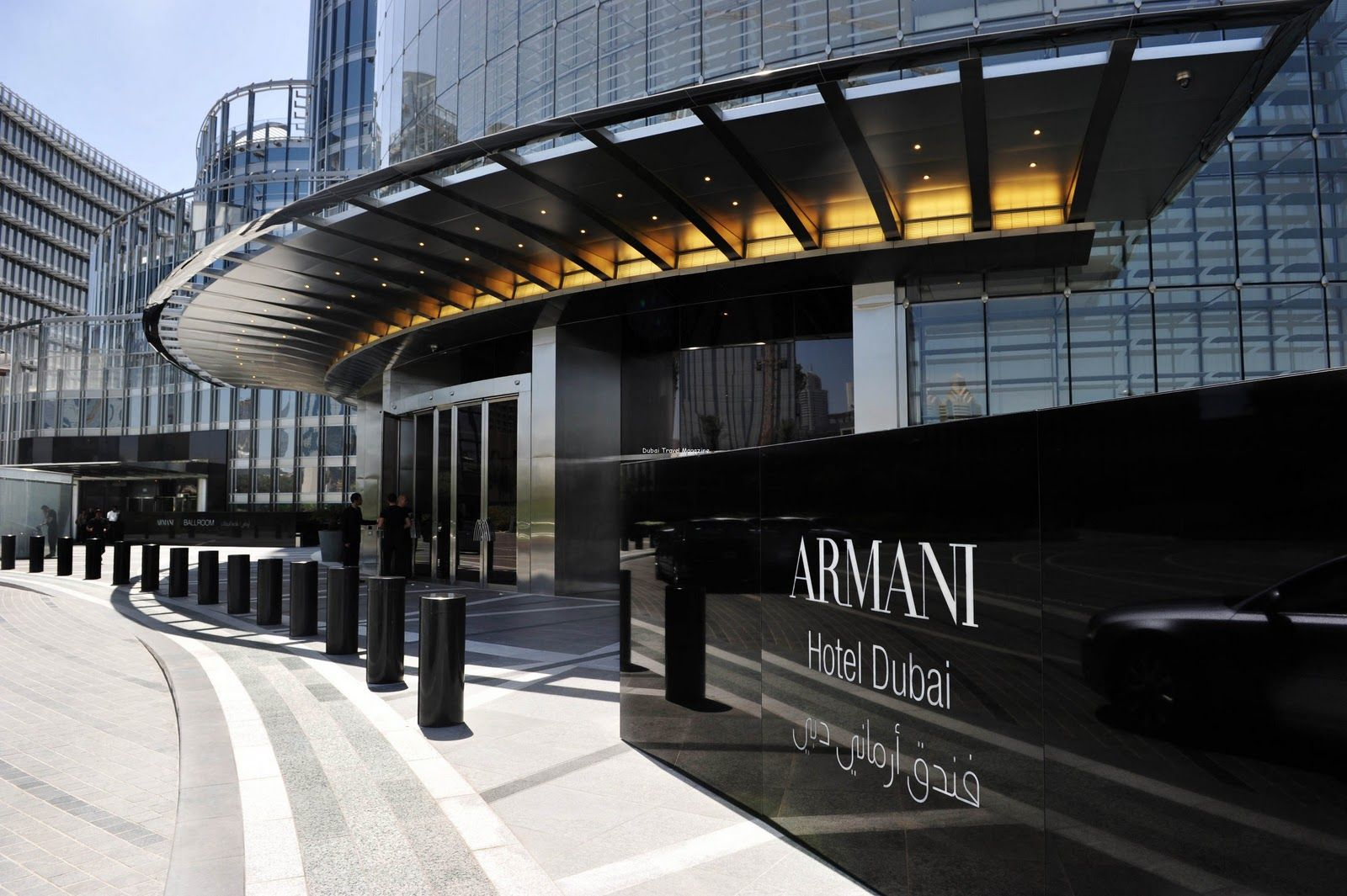 Armani Hotel in The Burj