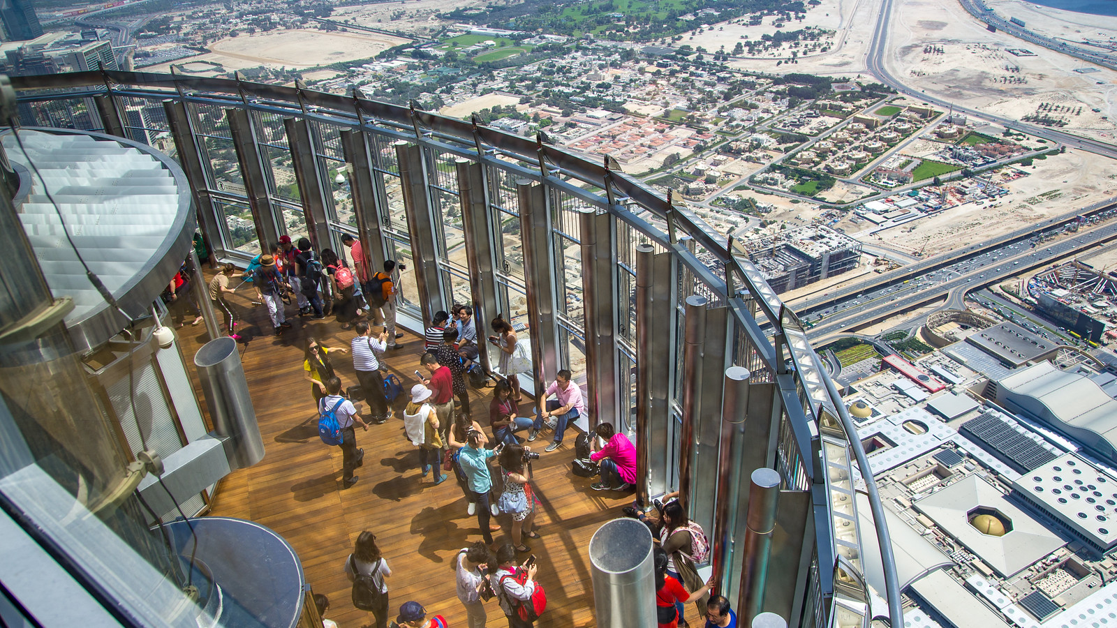 Burj Khalifa 124th floor