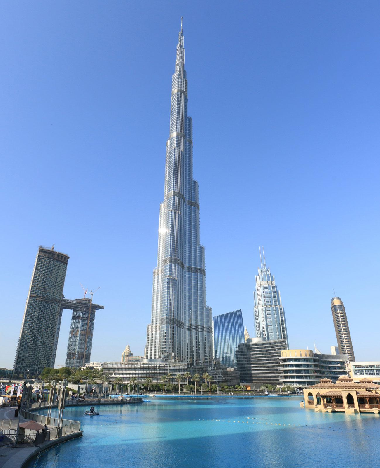 Burj Khalifa Floors and Sections