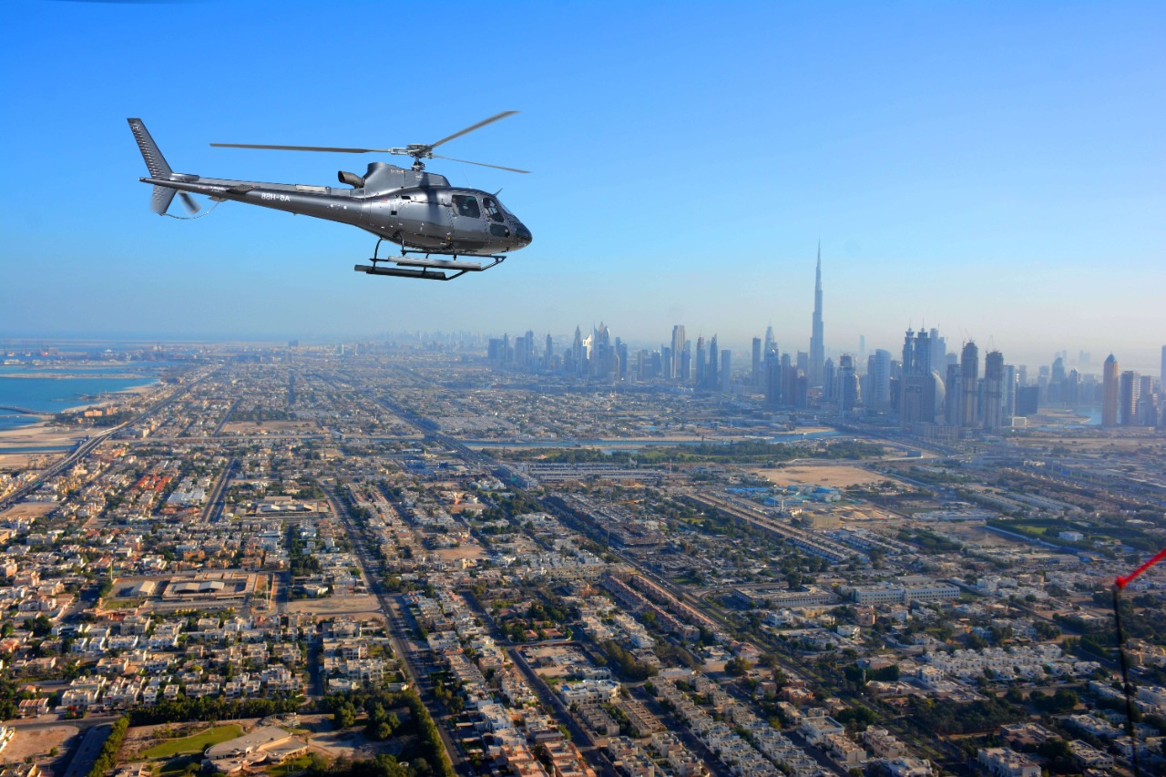 Helicopter Rides in Dubai