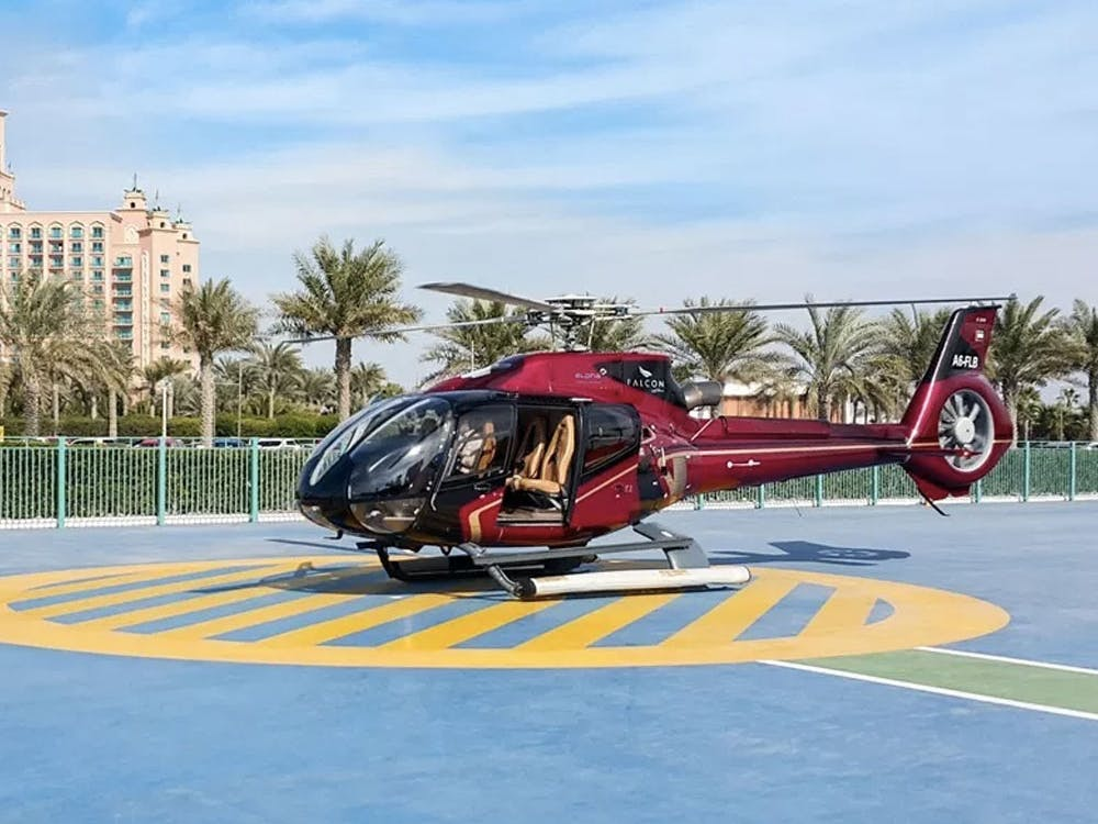 Helicopter Service in Dubai