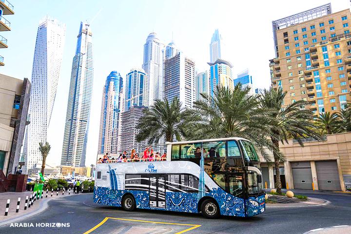 Hop-on hop-off Dubai