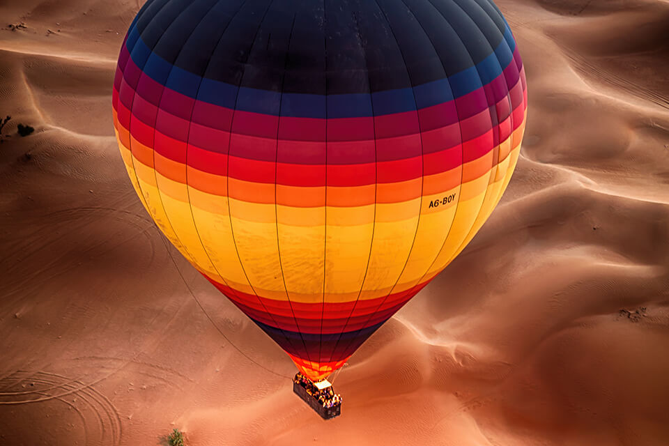 Hot Air Balloon Excursion