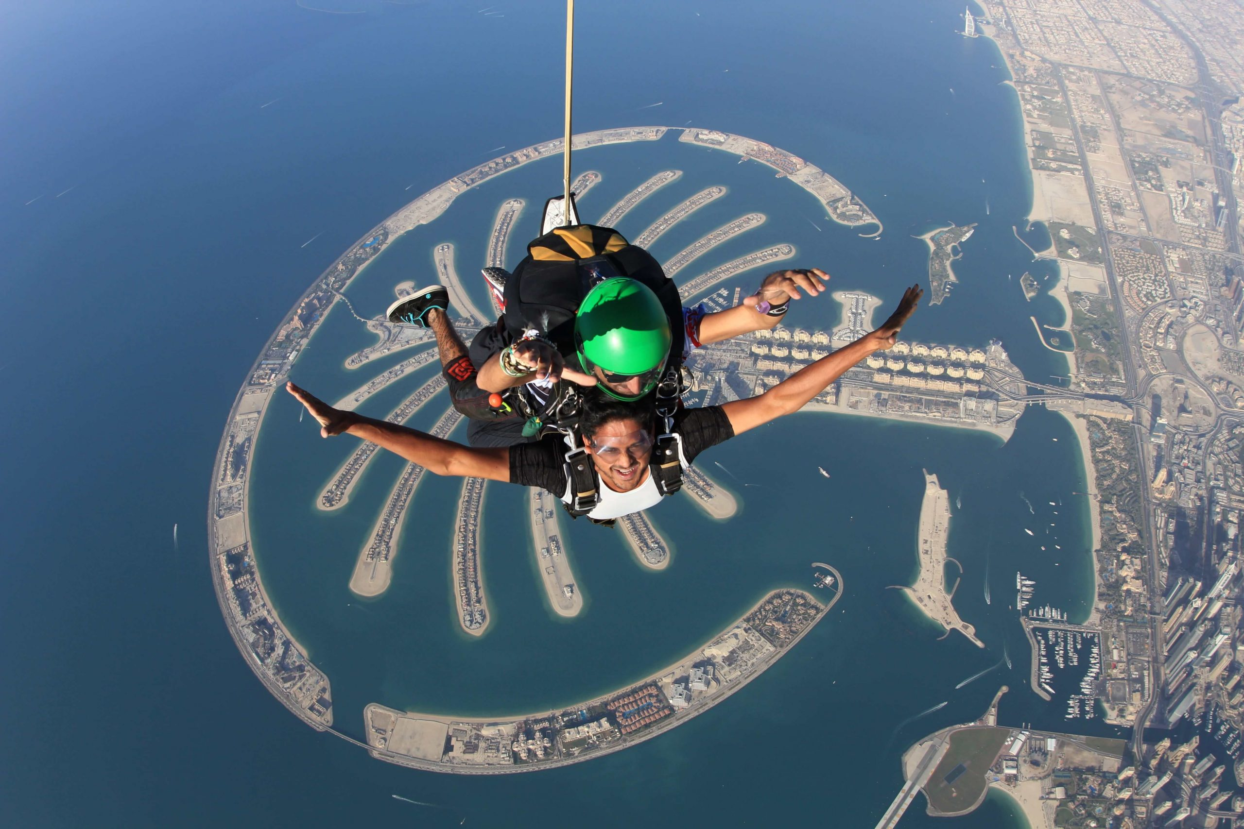 Sky Dive Dubai excursions