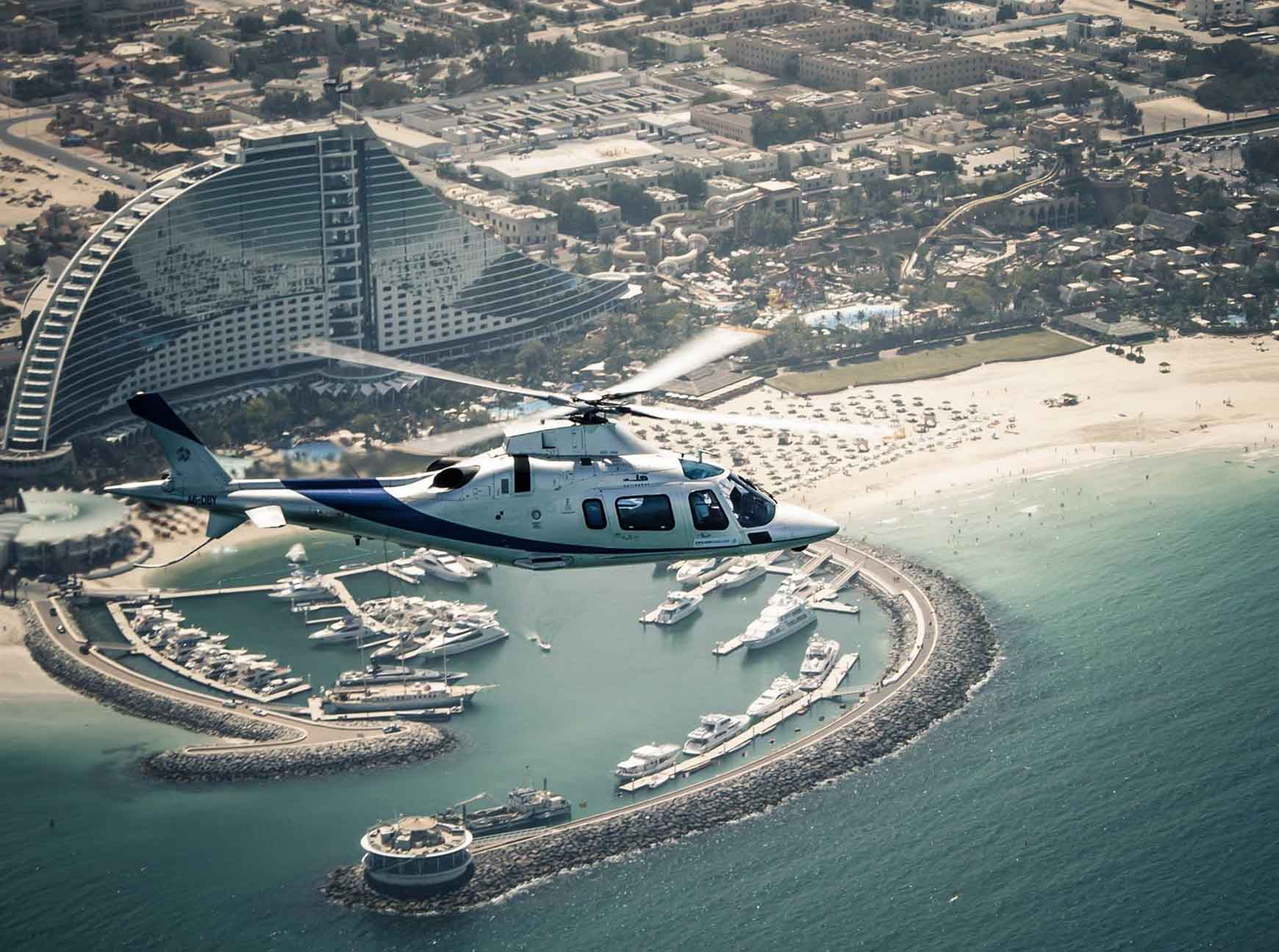 What is The Helicopter Charter Used For