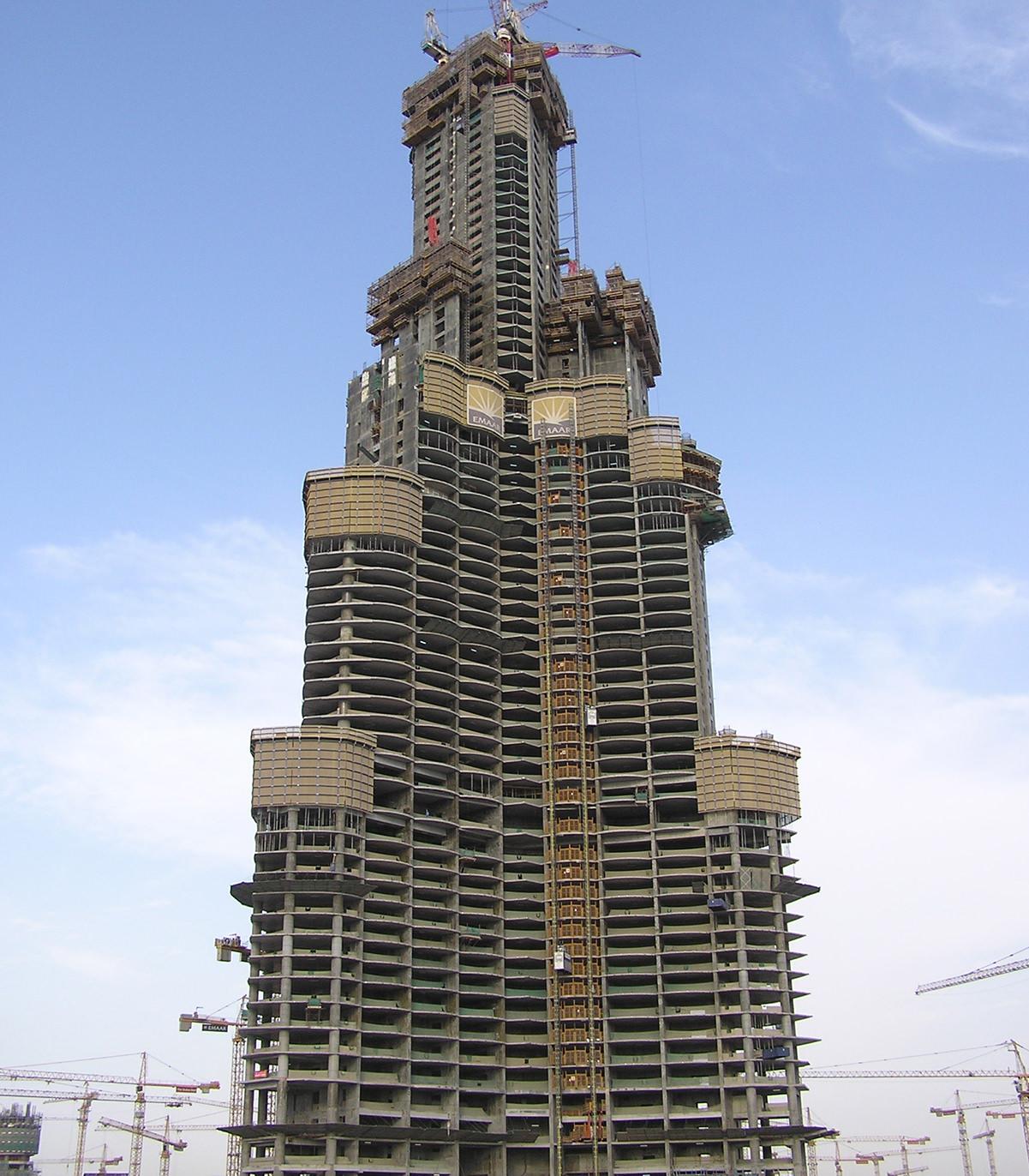 Which Company Made Burj Khalifa