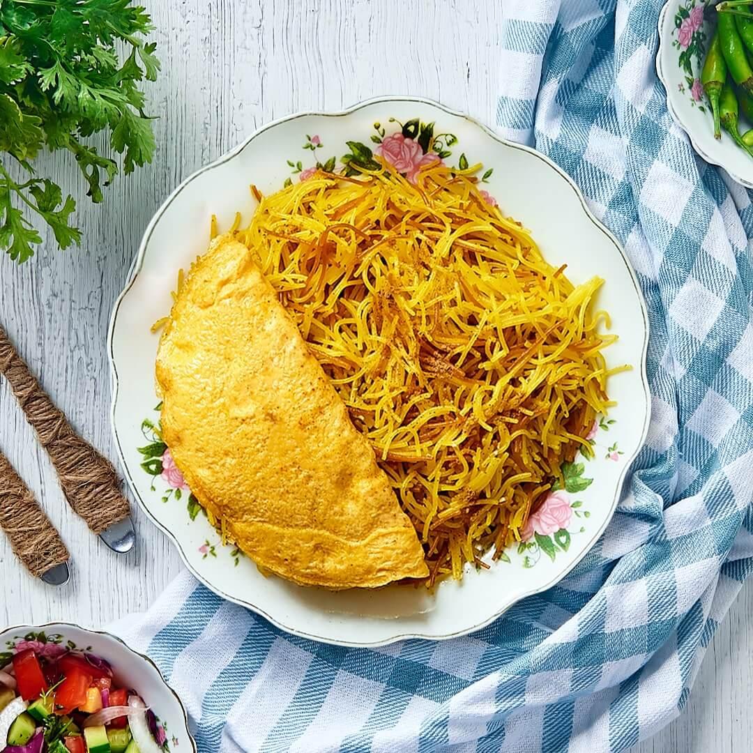 Balaleet, UAE Traditional Food