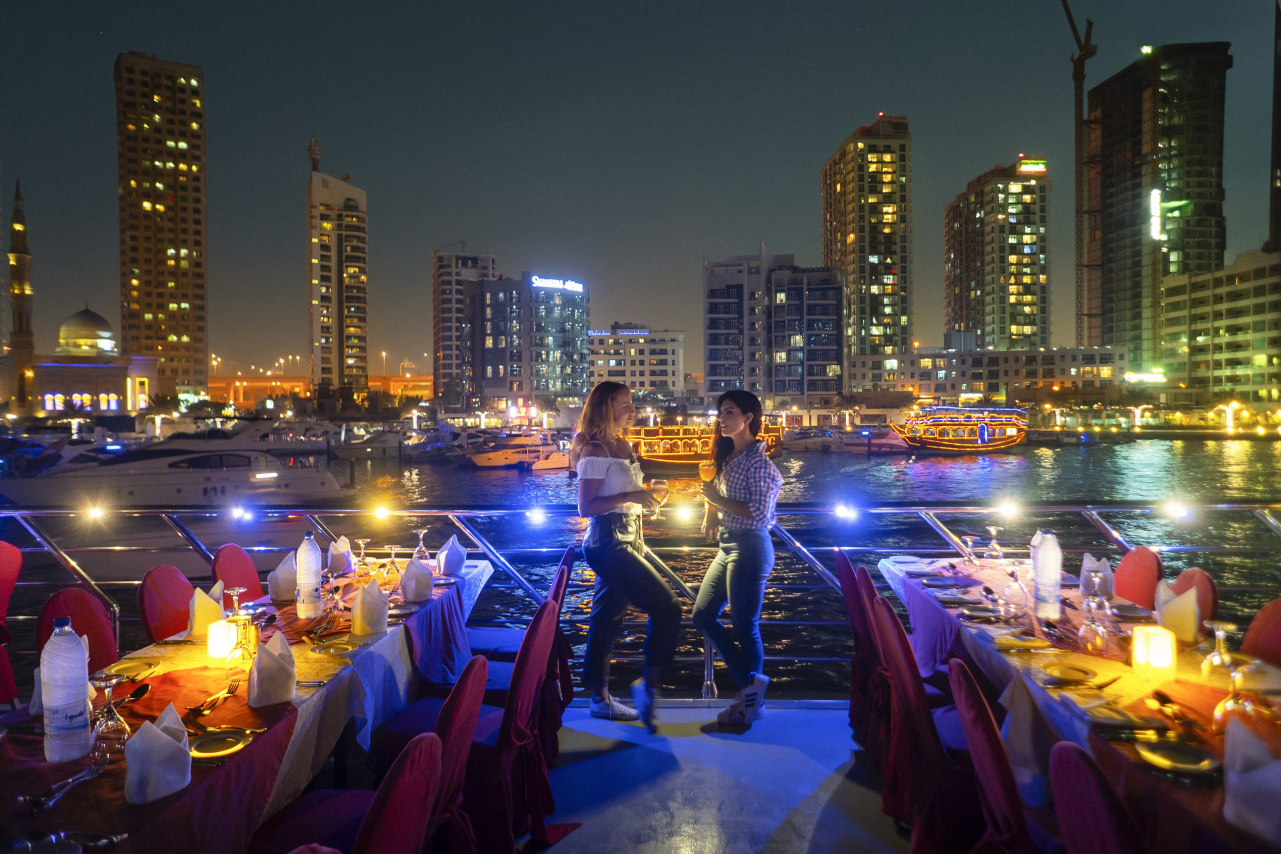Dinner on a Dhow Cruise