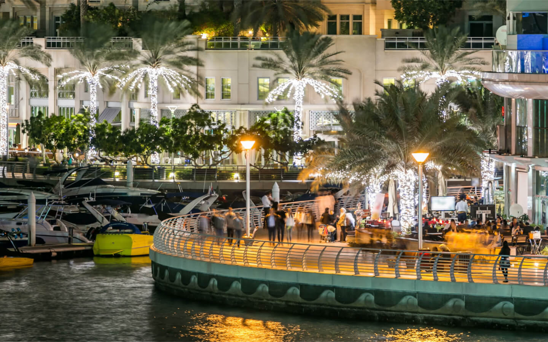 Restaurants in Dubai Marina