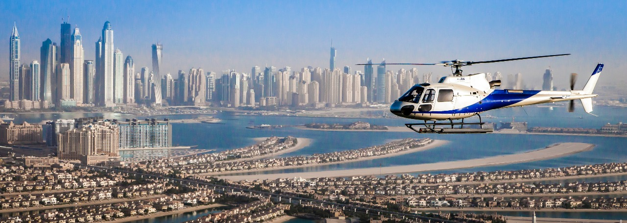 Scenic Helicopter Tours in Dubai