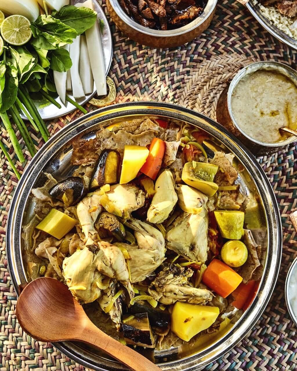 Thareed, UAE Traditional Food
